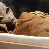 mummified alien