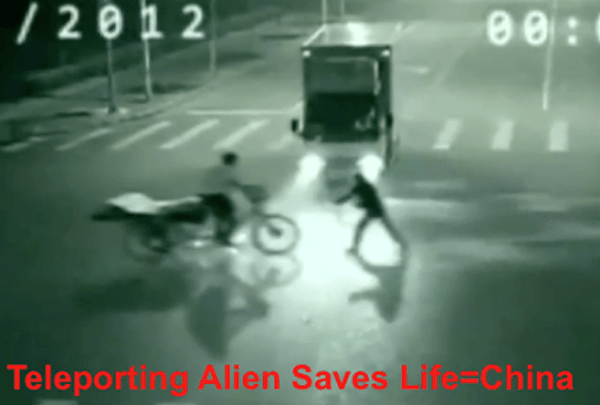 alien saves man