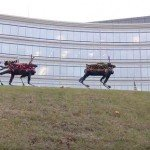 Creepy headless robot dogs give Santa a ride for Christmas