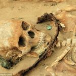 The 'vampire graves': Archaeologists find corpses' buried with sickles around their necks to stop them rising up as DEMONS