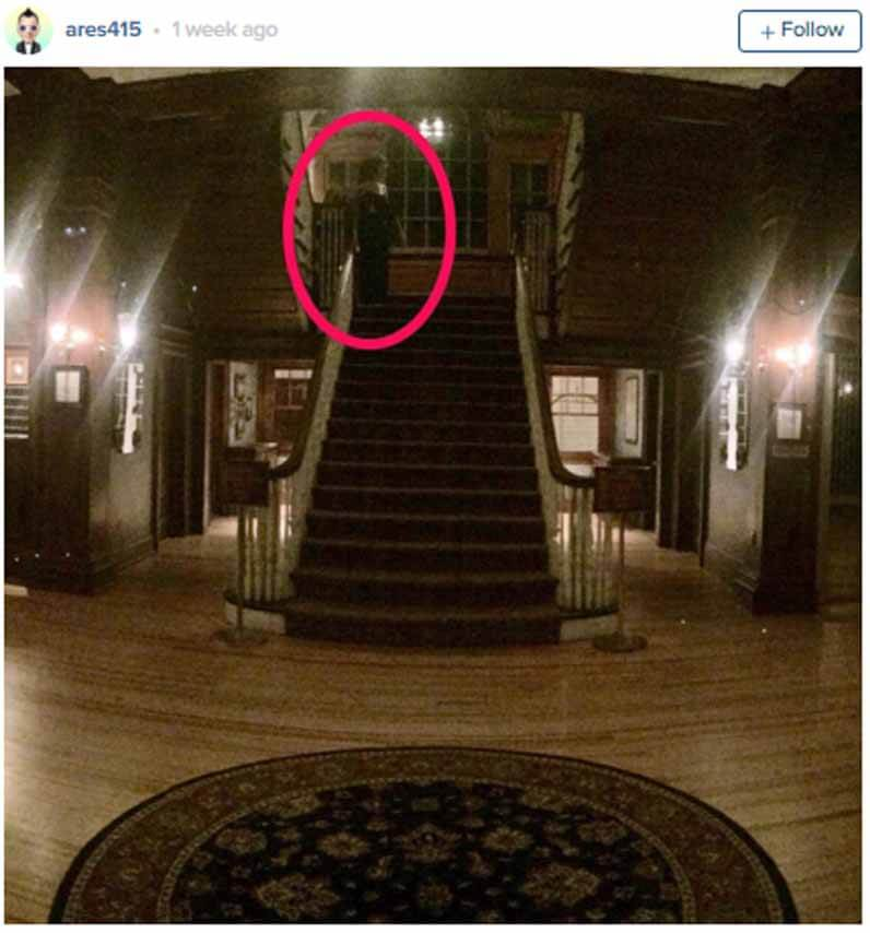 stanley hotel ghost