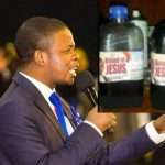 "Prophet Bushiri Sells ""The Blood Of Jesus"" for $2000 per bottle"