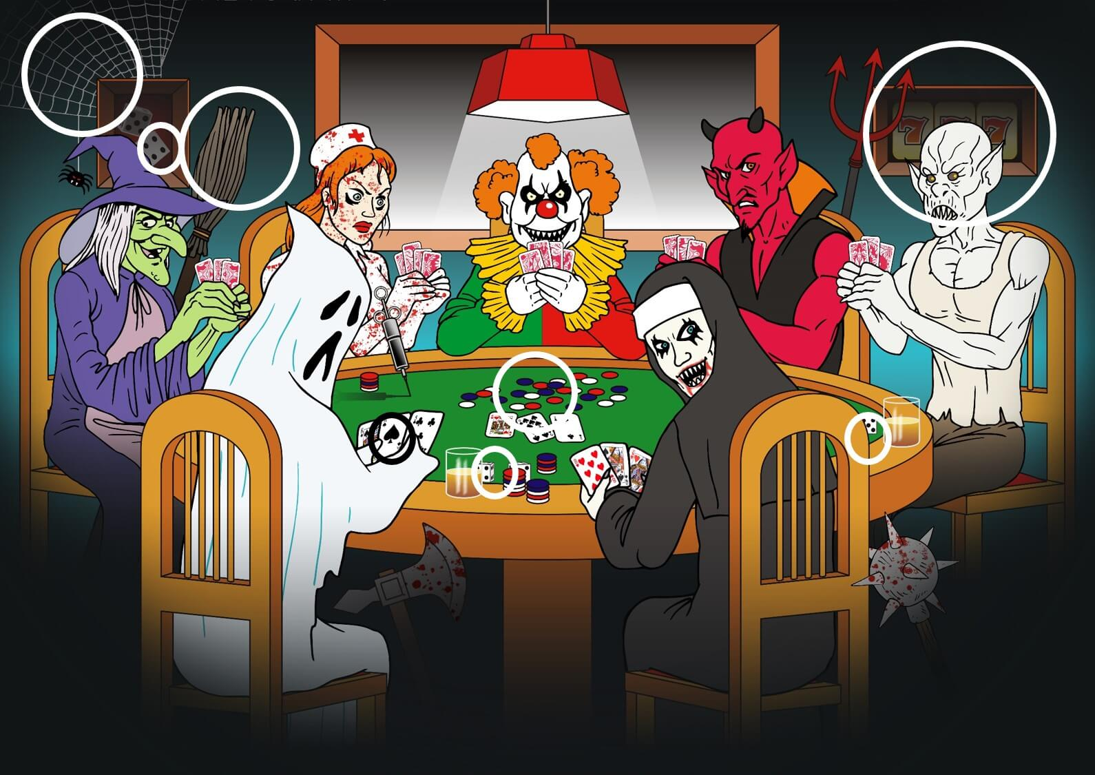 halloween online casino game