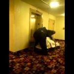 Funeral Home Goons drops dead body in elevator