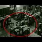 Ghost caught on tape in a restaurant