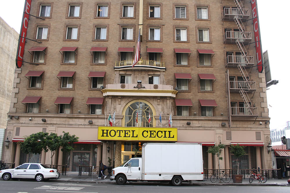 The Cecil Hotel Now Known As Stay On Main Is One Of Most Haunted Hotels In All California And Perhaps Even America