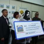 Lottery Winner Wears Scream Mask To Collect Winnings