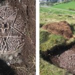 Satanic Plaque and Altar Unearthed in The Queen's Holyrood Park in Scotland