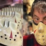 TOM SAVINI AND FELLOW EFFECTS ARTIST SELLING JASON VOORHEES STYLE PPE MASKS